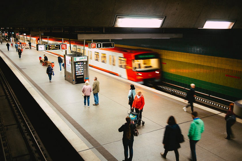 bus and train vocabulary in german