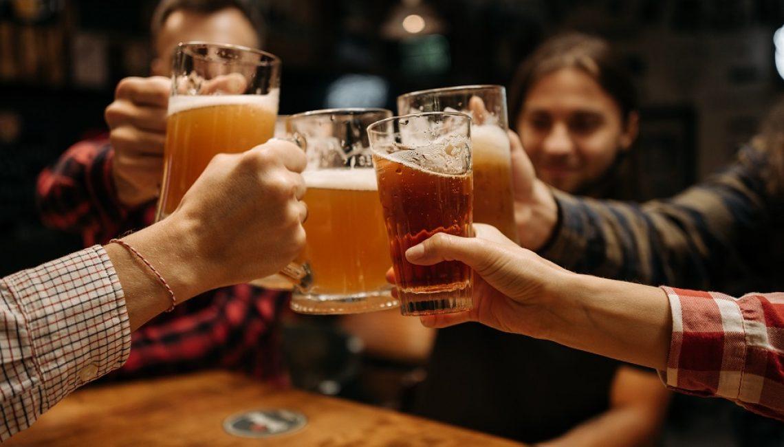 ordering a beer